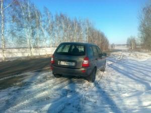 Лада Калина Универсал обкатка нового автомобиля