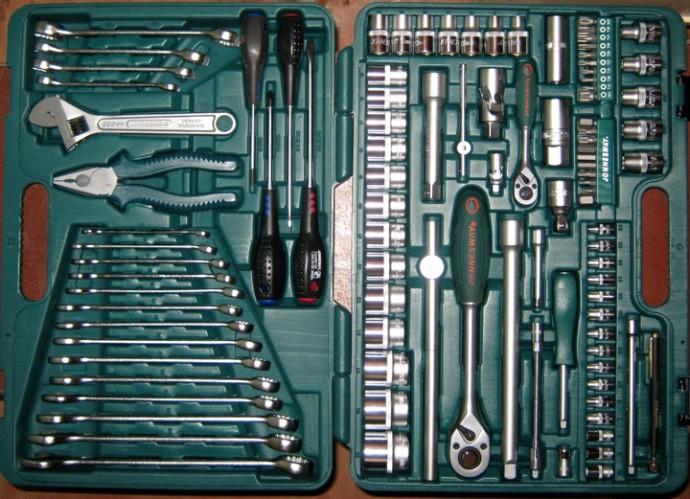 набор инструментов для автомобиля Jonnesway S04H624101S 101 предмет