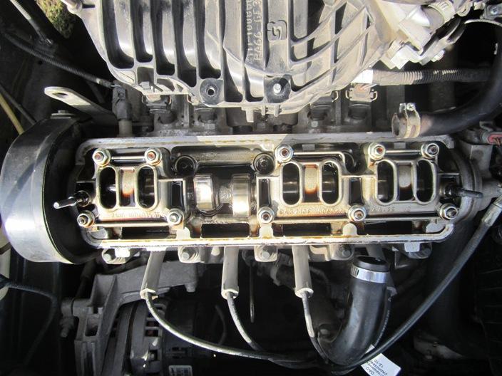состояние двигателя после масла ZIC