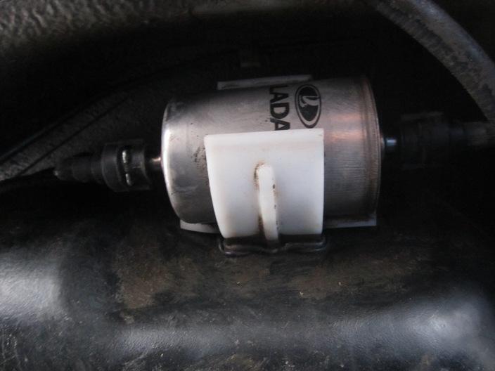 замена топливного фильтра на Ладе Калине