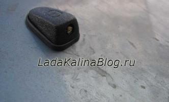 замена форсунок омывателя на веерные на Ладе Калине