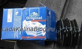 выбор тормозных колодок на Калину