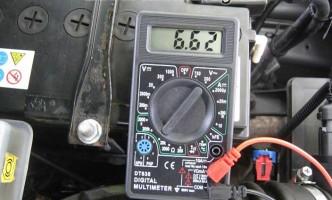 показания омметра при проверке бронепроводов на Калине