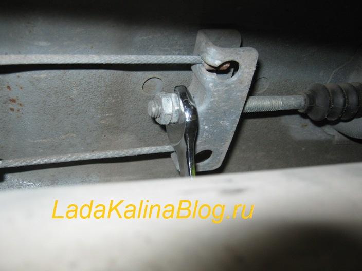 регулировка ручника на Ладе Калине своими силами