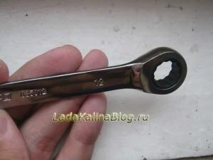 ключ комбинированный трещоточный Ombra