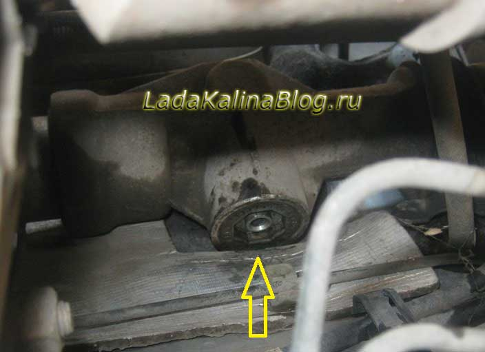 механизм регулировки рулевой рейки на Калине