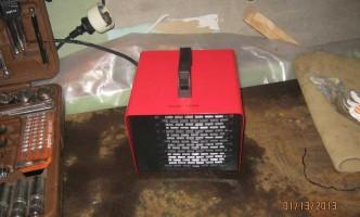 тепловая пушка Neoclima в гараже - эффективность