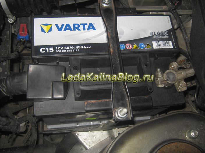 какой аккумулятор выбрать для Калины - VARTA