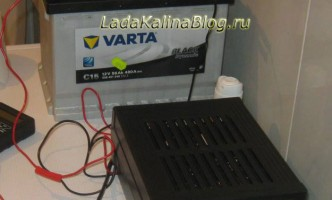 выбор зарядного устройства для автомобильного аккумулятора Калины