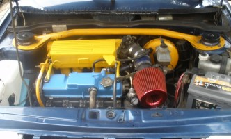 новый турбированный двигатель на Калине