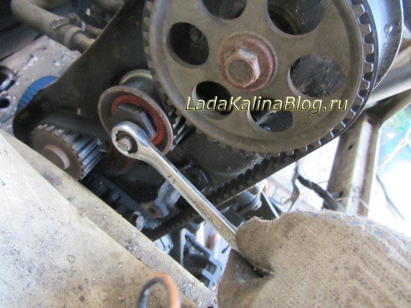 Замена Ремня Грм Калина 1.6 8кл Инструкция - фото 2