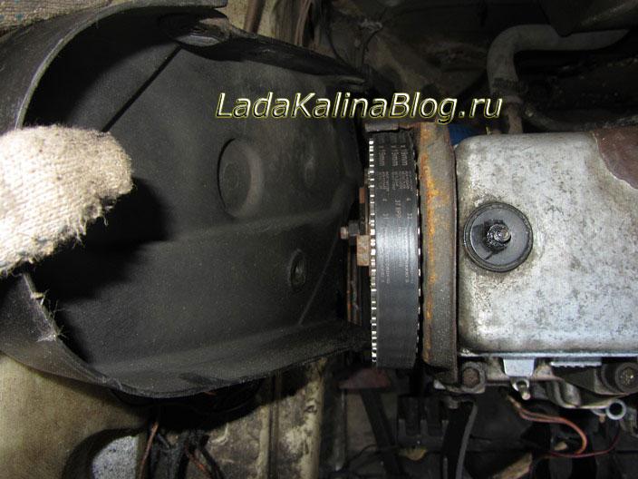 Замена Ремня Грм Калина 1.6 8кл Инструкция - фото 5