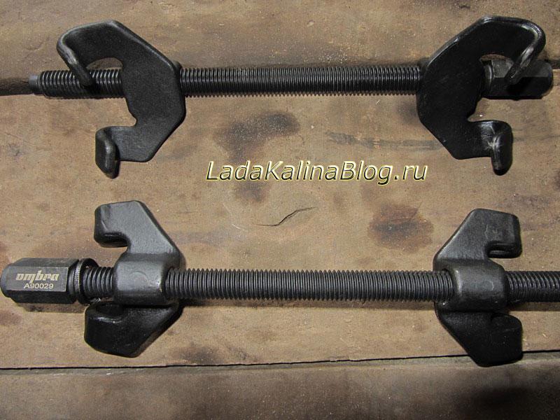 стяжки пружин подвески Ombra