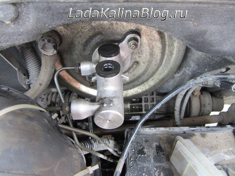 цилиндр главный тормозной на Калину