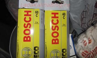 летние щетки дворников Bosch