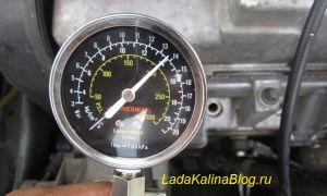 Проверка компрессии в двигателе