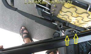 Салазки передних сидений: особенности снятия и установки