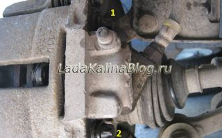 Как поменять передний тормозной цилиндр