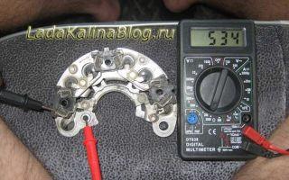 Проверка работоспособности генератора