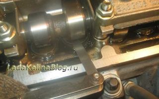 Инструкция по регулировке клапанов