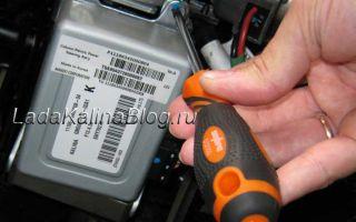 Замена блока управления электроусилителем руля
