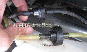 Модернизация омывателя с помощью обратного клапана