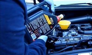 Масло в двигатель и коробку