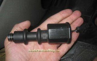 Инструкция по замене выключателя соленоида на рычаге КПП