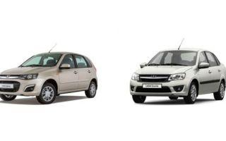 Какой авто выбрать «Калину» или «Гранту»?