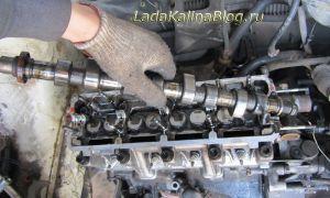 Замена распредвала на примере 1,6 8-кл. двигателя