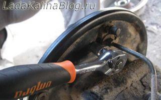 Инструкция по замене заднего тормозного цилиндра