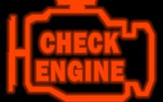 Горит индикатор двигателя «Чек»
