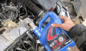 Инструкция по замене масла в двигателе
