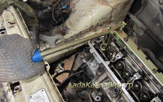 Замена маслосъемных колпачков (сальников клапанов)