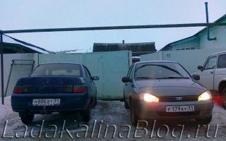 ВАЗ 2110 или Калина