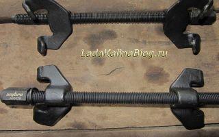 Новые стяжки пружин: усиленные