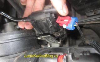 Подробно о замене клапана продувки адсорбера