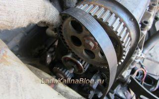 Замена ремня ГРМ и ролика на 8-клапанном моторе