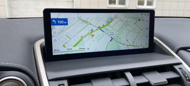 Установка навигации на Lexus nx 200 и Lexus LX 570