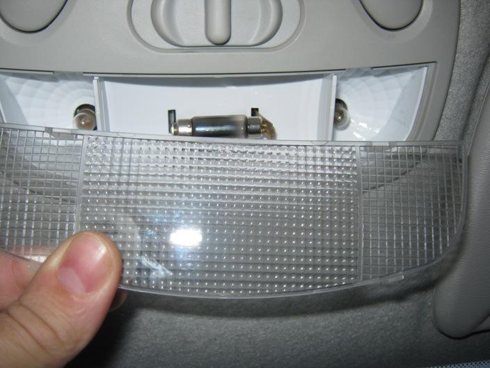 снятие стекла плафона