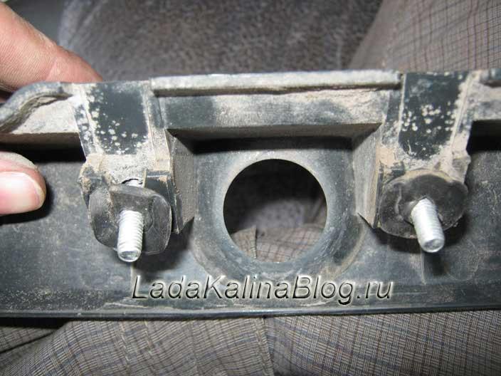 ремонт сабли багажника на автомобиле Лада Калина