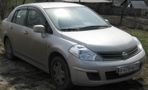 Nissan Tiida сравнение с Калиной