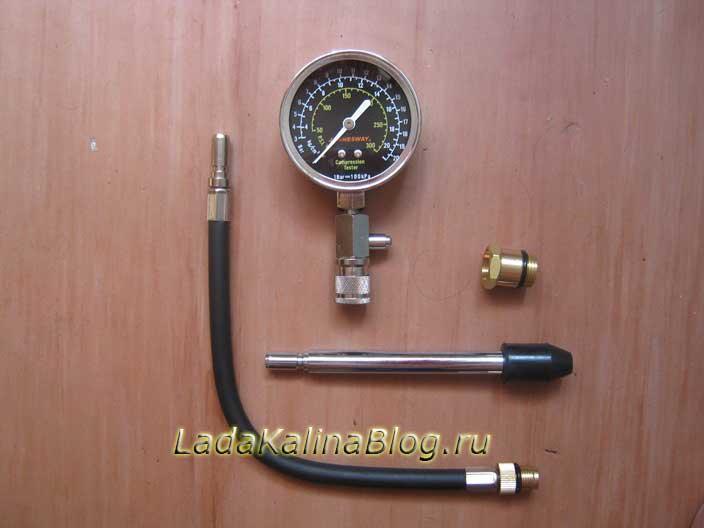 компрессометр Jonnesway 21 кг/см? (атм)