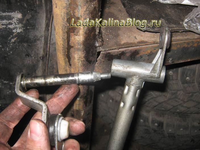 ремонт трапеции стеклоочистителя на Калине